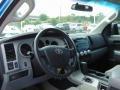 2008 Blue Streak Metallic Toyota Tundra SR5 Double Cab 4x4  photo #11
