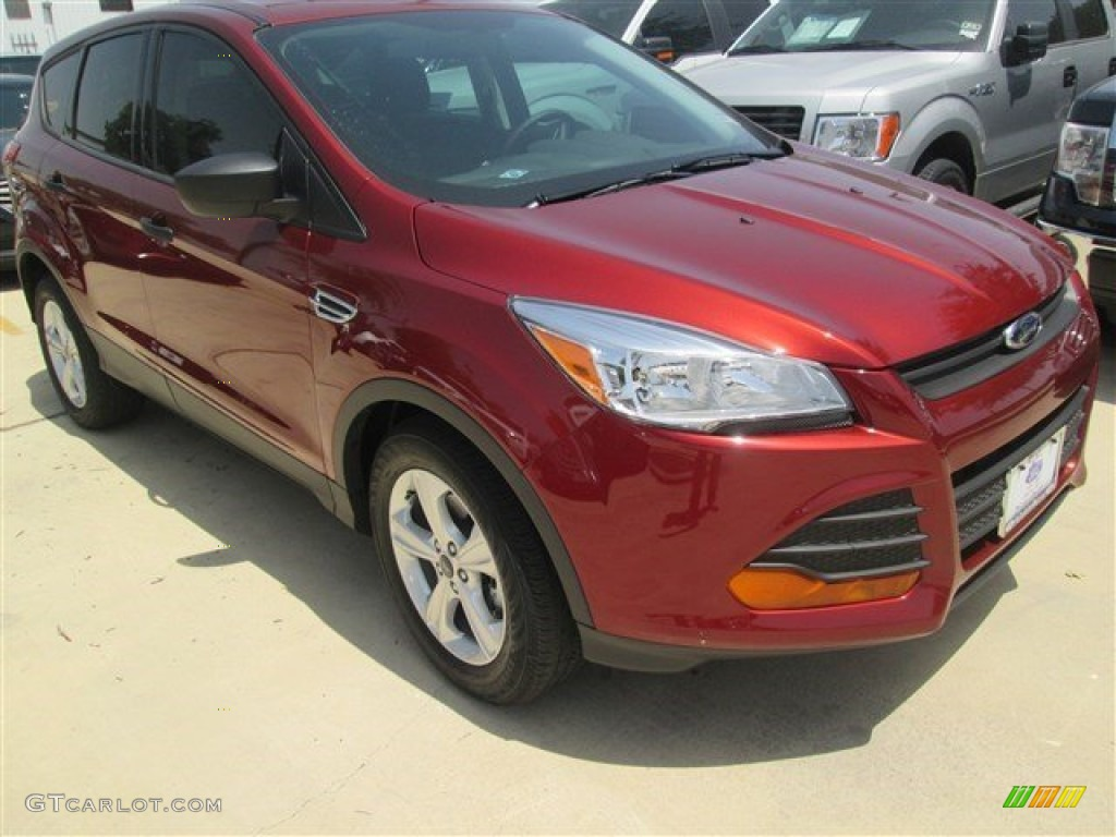 2014 Escape S - Sunset / Charcoal Black photo #1