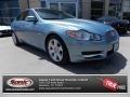 Frost Blue Metallic 2009 Jaguar XF Luxury