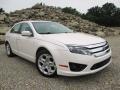 2010 White Platinum Tri-coat Metallic Ford Fusion SE #96592454