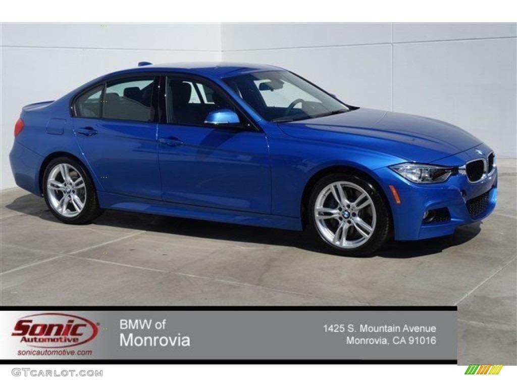 2015 Estoril Blue BMW 3 Series 328i Sedan 96592260  GTCarLotcom