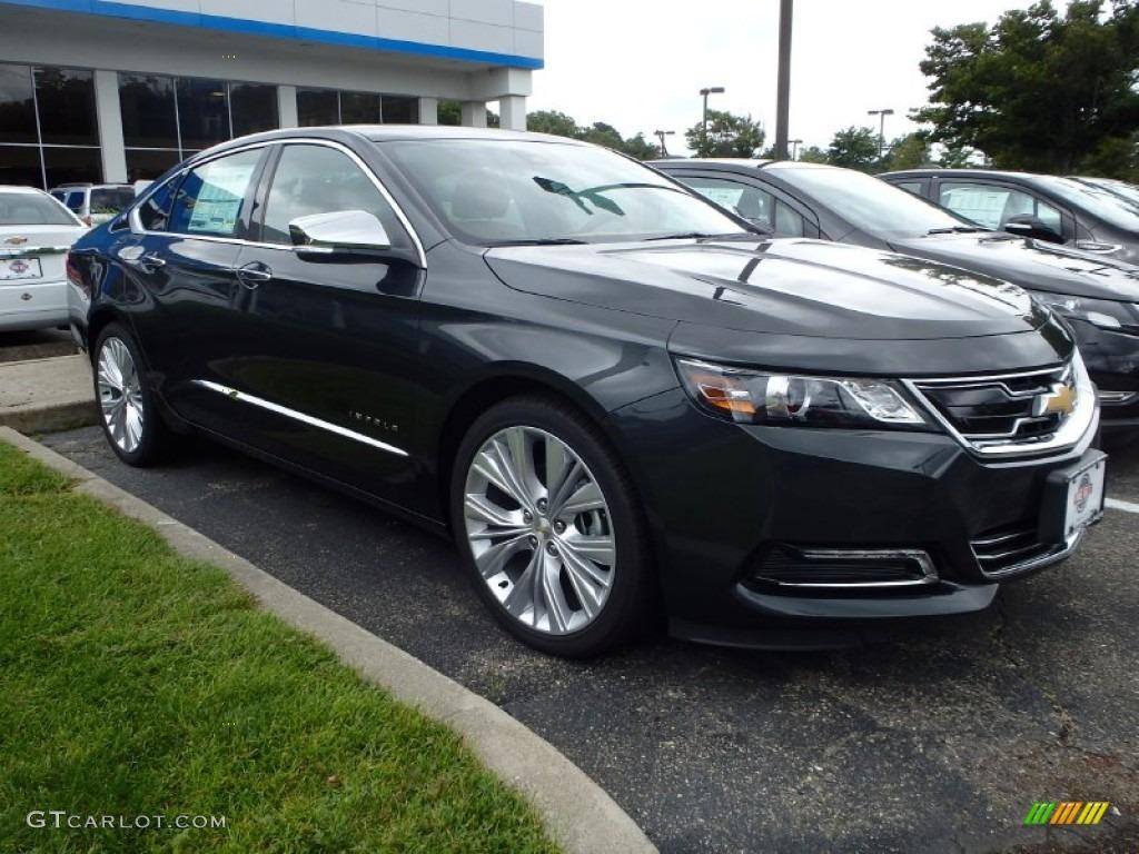 2015 ashen gray metallic chevrolet impala ltz 96645880 car color galleries. Black Bedroom Furniture Sets. Home Design Ideas