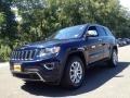 True Blue Pearl 2014 Jeep Grand Cherokee Limited 4x4