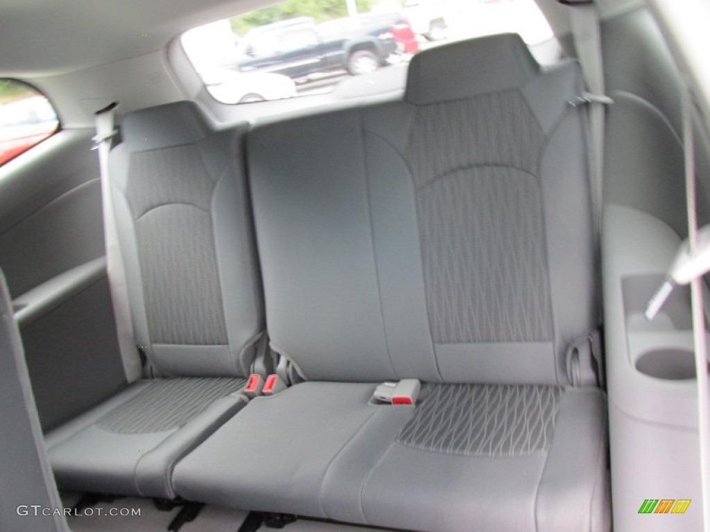 Dark Titanium Light Titanium Interior 2015 Chevrolet Traverse Ls Photo 96681778