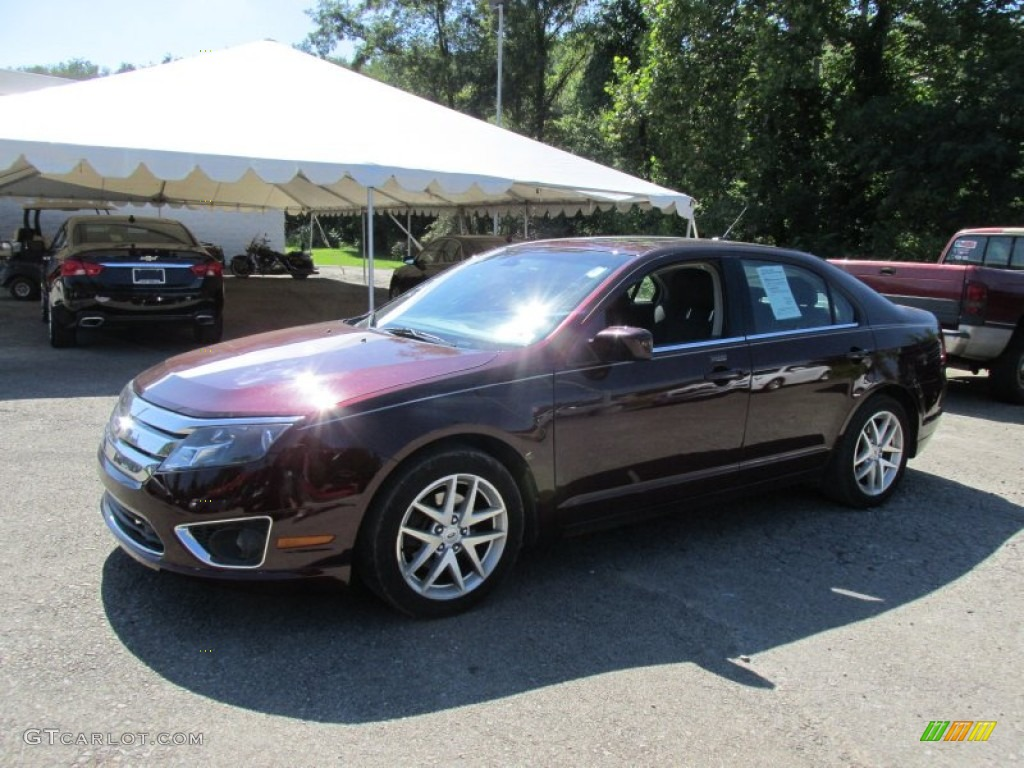 2011 Fusion SEL - Bordeaux Reserve Metallic / Charcoal Black photo #1