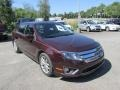 2011 Bordeaux Reserve Metallic Ford Fusion SEL  photo #10