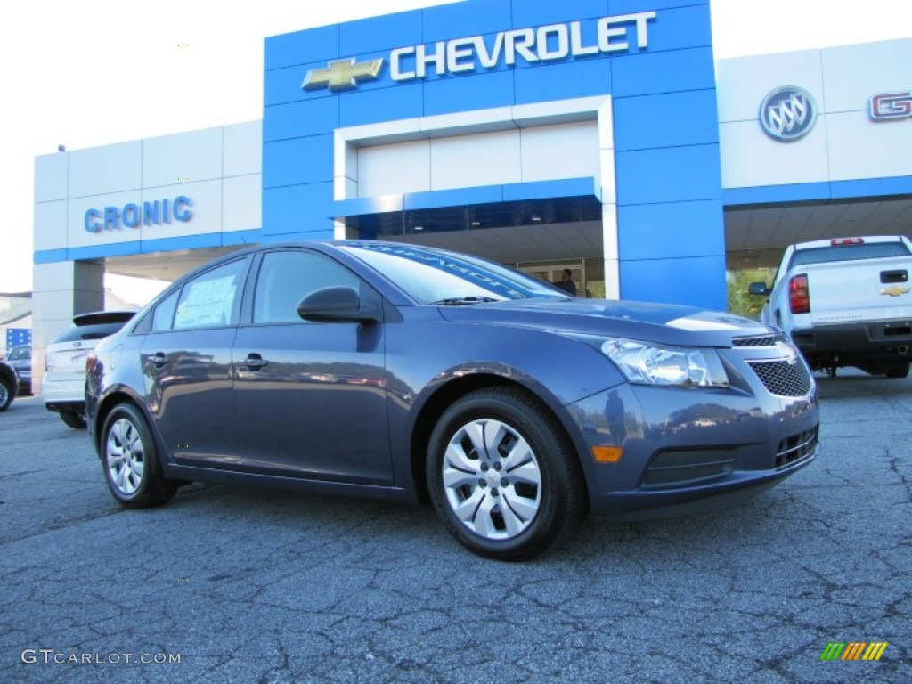2014 Atlantis Blue Metallic Chevrolet Cruze Ls 96680121 Car Color Galleries