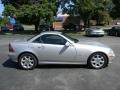2001 Brilliant Silver Metallic Mercedes-Benz SLK 230 Kompressor Roadster  photo #13