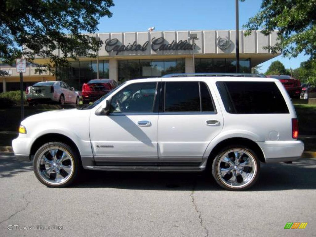 2002 oxford white lincoln navigator luxury 4x4 9558891 gtcarlot com car color galleries gtcarlot com