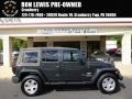 Dark Charcoal Pearl 2010 Jeep Wrangler Unlimited Sahara 4x4