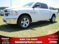 2014 Bright White Ram 1500 Big Horn Crew Cab #96758749