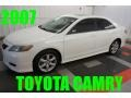 Super White 2007 Toyota Camry Gallery