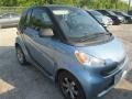 Light Blue Metallic 2012 Smart fortwo passion coupe