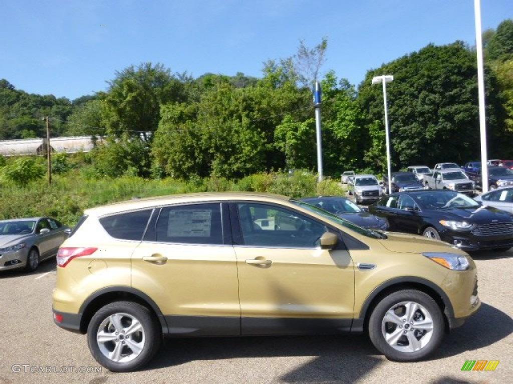 2014 Escape SE 1.6L EcoBoost 4WD - Karat Gold / Medium Light Stone photo #1