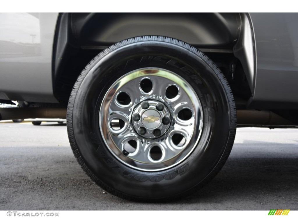 2012 Silverado 1500 LS Crew Cab 4x4 - Mocha Steel Metallic / Dark Titanium photo #16