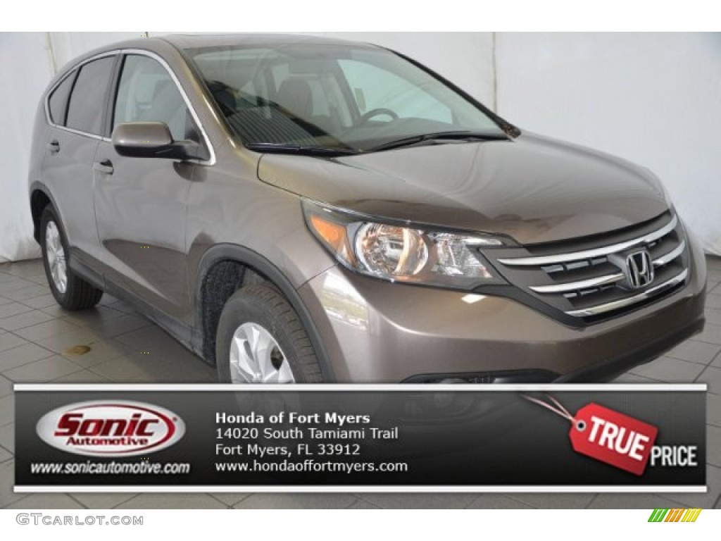 2014 CR-V EX - Urban Titanium Metallic / Beige photo #1