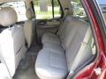 2008 GMC Envoy Light Gray Interior Rear Seat Photo