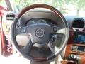 2008 GMC Envoy Light Gray Interior Steering Wheel Photo