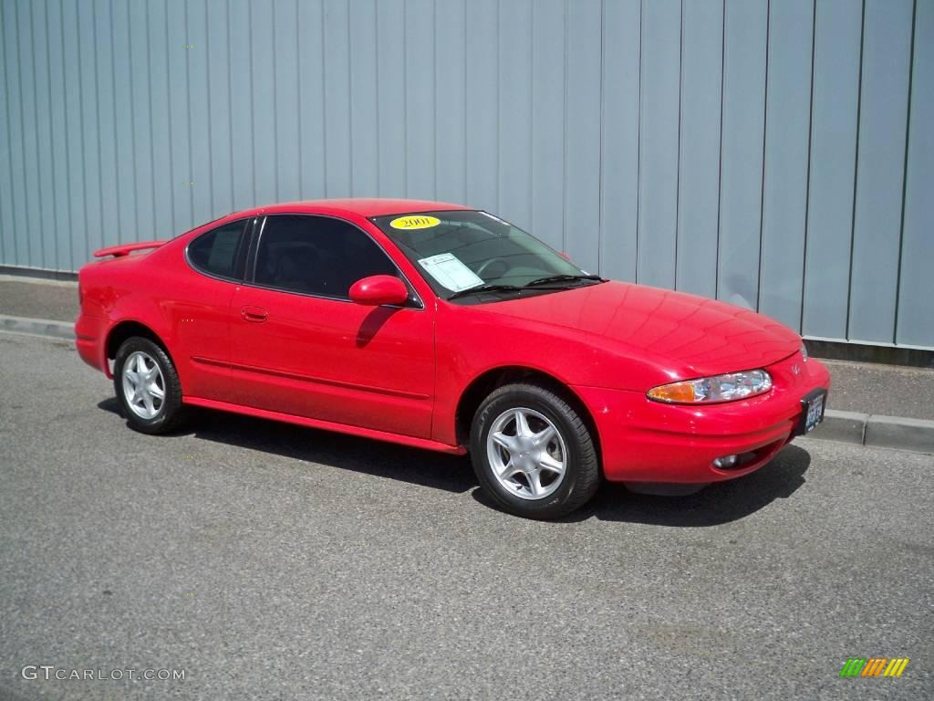 2001 bright red oldsmobile alero gl coupe 9558605 gtcarlot com car color galleries gtcarlot com