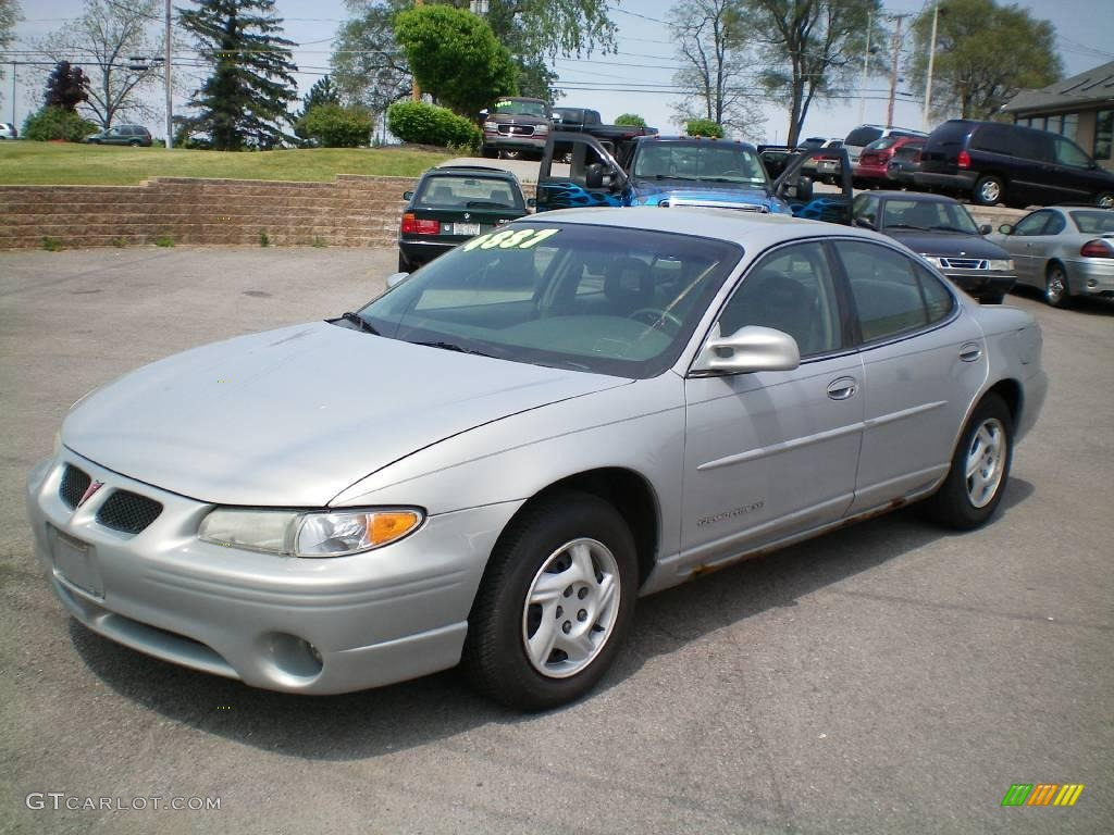 2000 silvermist metallic pontiac grand prix se sedan 9623212 car color galleries. Black Bedroom Furniture Sets. Home Design Ideas