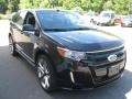Tuxedo Black Metallic 2011 Ford Edge Sport AWD
