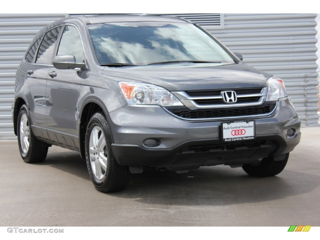 2010 CR-V EX-L - Polished Metal Metallic / Gray photo #1