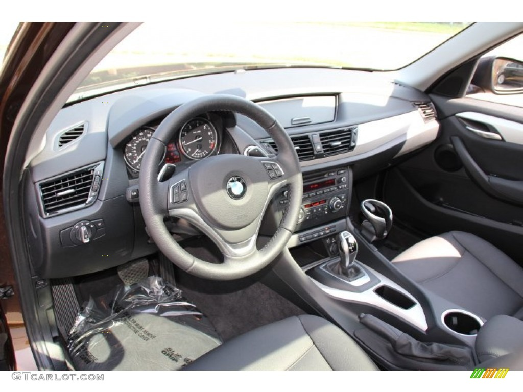 Black Interior 2014 Bmw X1 Xdrive28i Photo 96889399 Gtcarlot Com