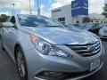 2014 Radiant Silver Hyundai Sonata Limited 2.0T #96911262