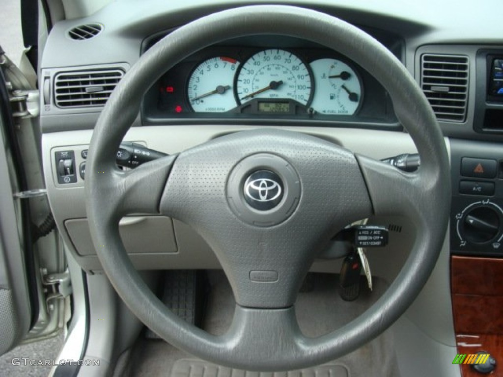2004 toyota corolla le steering wheel photos. Black Bedroom Furniture Sets. Home Design Ideas