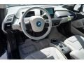 2014 BMW i3 Mega Carum Spice Grey Sensatec/Carum Spice Grey Cloth Interior Front Seat Photo