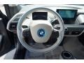 2014 BMW i3 Mega Carum Spice Grey Sensatec/Carum Spice Grey Cloth Interior Steering Wheel Photo