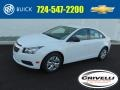 Summit White 2014 Chevrolet Cruze LS