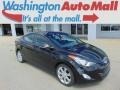 Black 2011 Hyundai Elantra Limited