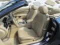 2011 Jaguar XK Caramel/Caramel Interior Front Seat Photo