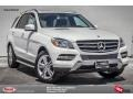 Polar White 2015 Mercedes-Benz ML 350