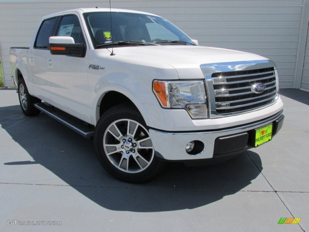 2014 white platinum ford f150 lariat supercrew 96953880 car color galleries. Black Bedroom Furniture Sets. Home Design Ideas