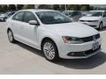 2014 Pure White Volkswagen Jetta SEL Sedan #96998078