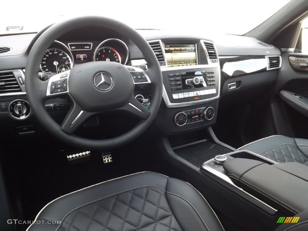 Designo Black Interior 2015 Mercedes Benz Ml 400 4matic Photo 97004628 Gtcarlot Com