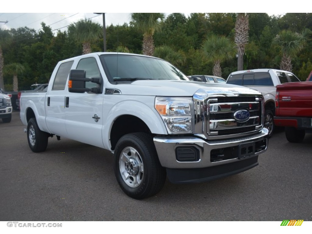 2014 oxford white ford f250 super duty xlt crew cab 4x4 96997969 photo 5 car. Black Bedroom Furniture Sets. Home Design Ideas