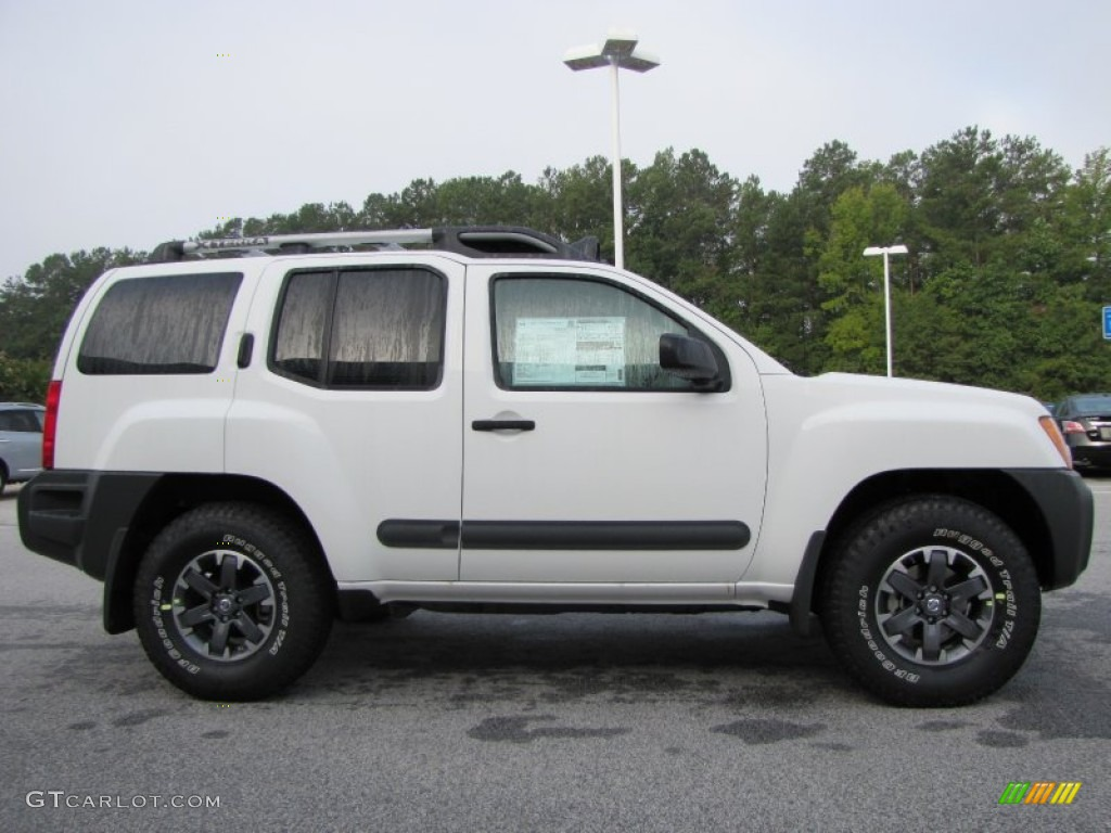 glacier white 2015 nissan xterra pro 4x 4x4 exterior photo 97013709. Black Bedroom Furniture Sets. Home Design Ideas