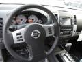 2015 Nissan Xterra PRO-4X Gray/Steel Interior Steering Wheel Photo