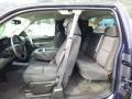 2011 Imperial Blue Metallic Chevrolet Silverado 1500 LS Extended Cab 4x4  photo #12