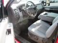 2012 Vermillion Red Ford F250 Super Duty XLT Crew Cab 4x4  photo #8
