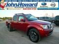 Lava Red 2014 Nissan Frontier Pro-4X Crew Cab 4x4