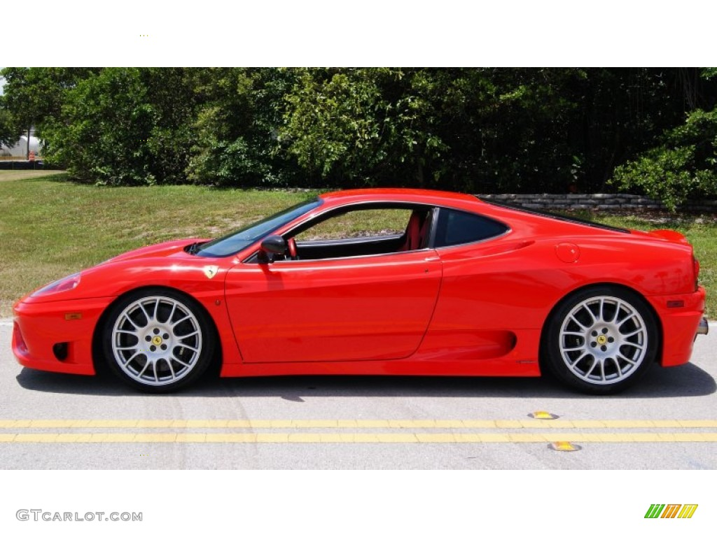 rosso scuderia red 2004 ferrari 360 challenge stradale f1 exterior. Cars Review. Best American Auto & Cars Review