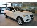 Diamond White Metallic 2013 Mercedes-Benz ML 350 4Matic