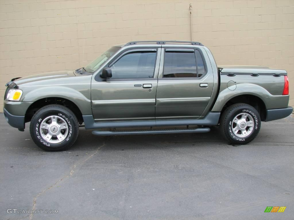 Estate green metallic ford explorer sport trac