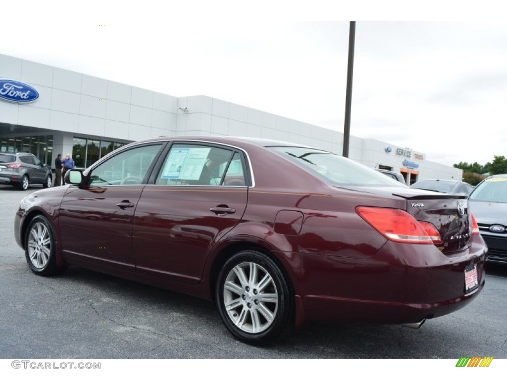 2007 cassis red pearl toyota avalon xls 97110466 photo. Black Bedroom Furniture Sets. Home Design Ideas
