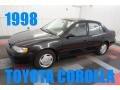 Satin Black Metallic 1998 Toyota Corolla LE