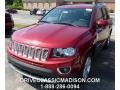 Deep Cherry Red Crystal Pearl 2015 Jeep Compass Gallery